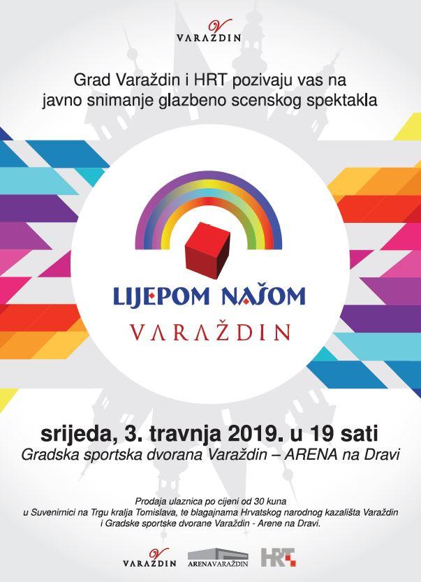 Plakat Lijepon našom Varaždin - svi