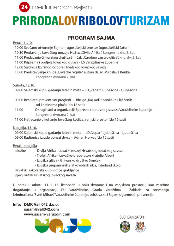 Sajam 2019 - program
